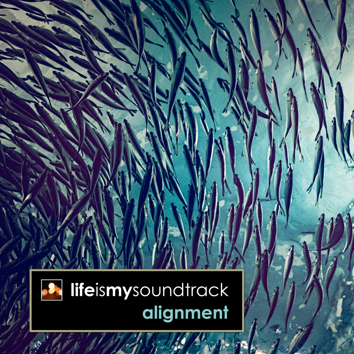 The album Alignment by Life Is My Soundtrack - Music inspired by the ocean tides