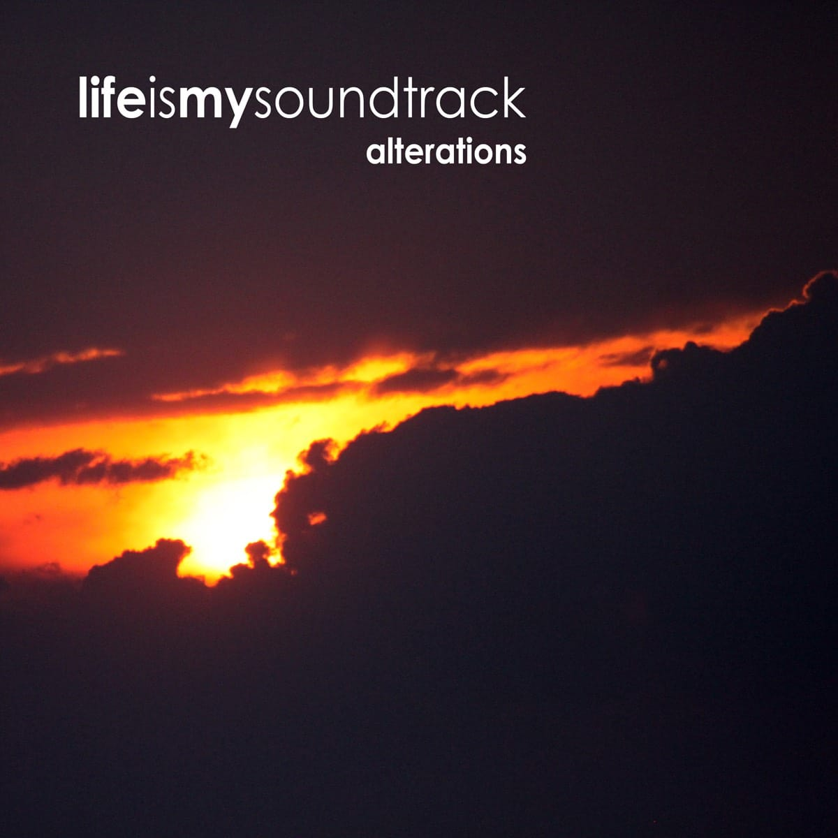The album Alterations by Life Is My Soundtrack - Downtempo music that features ambient soundscapes mixed with minimal drums