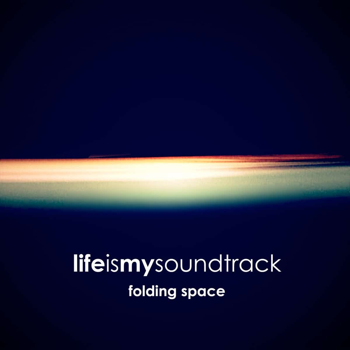 The album Folding Space by Life Is My Soundtrack - Atmospheric synthesizers and drum beats, combined with angelic arpeggios