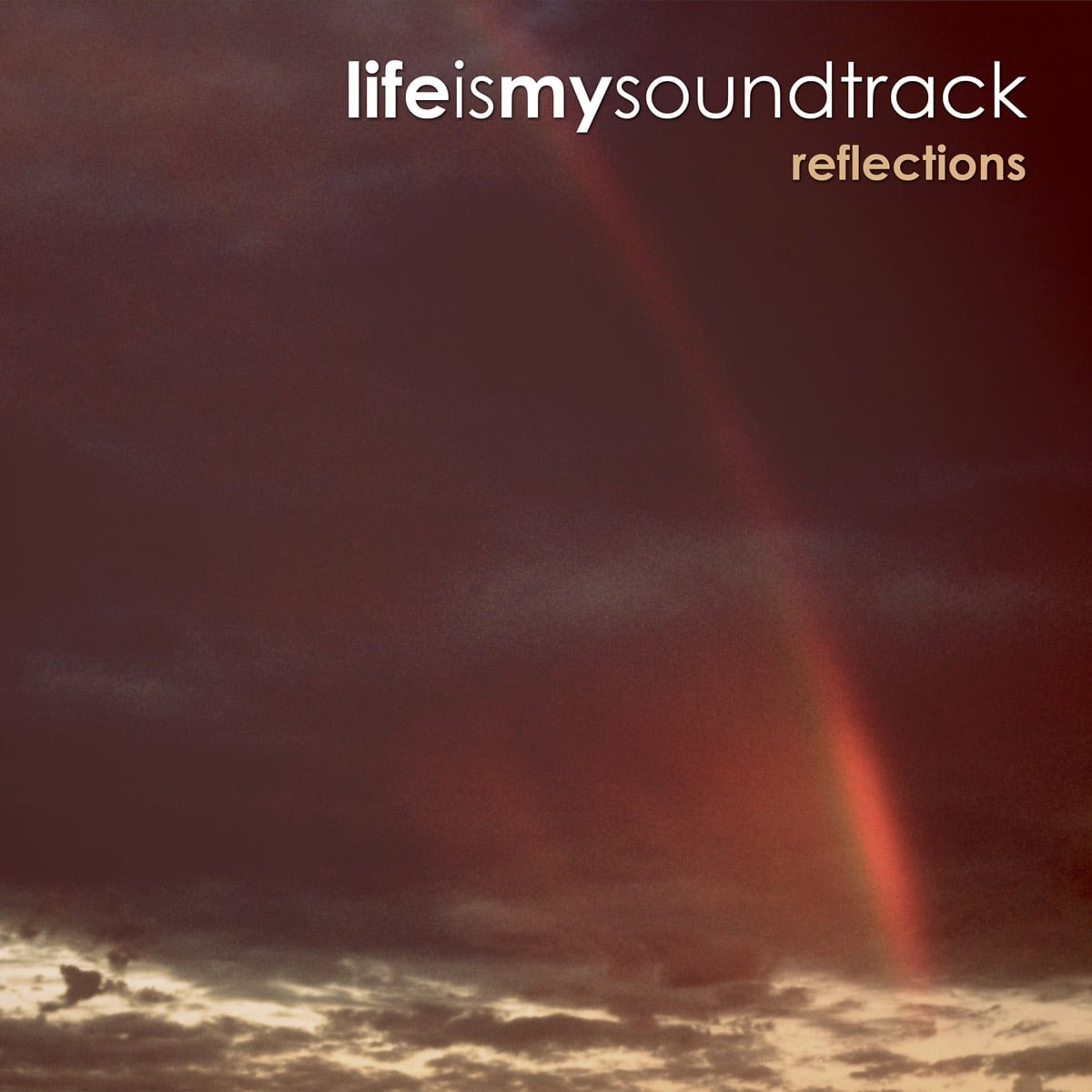 The album Reflections by Life Is My Soundtrack - Electric pianos combined with light electronic and organic elements