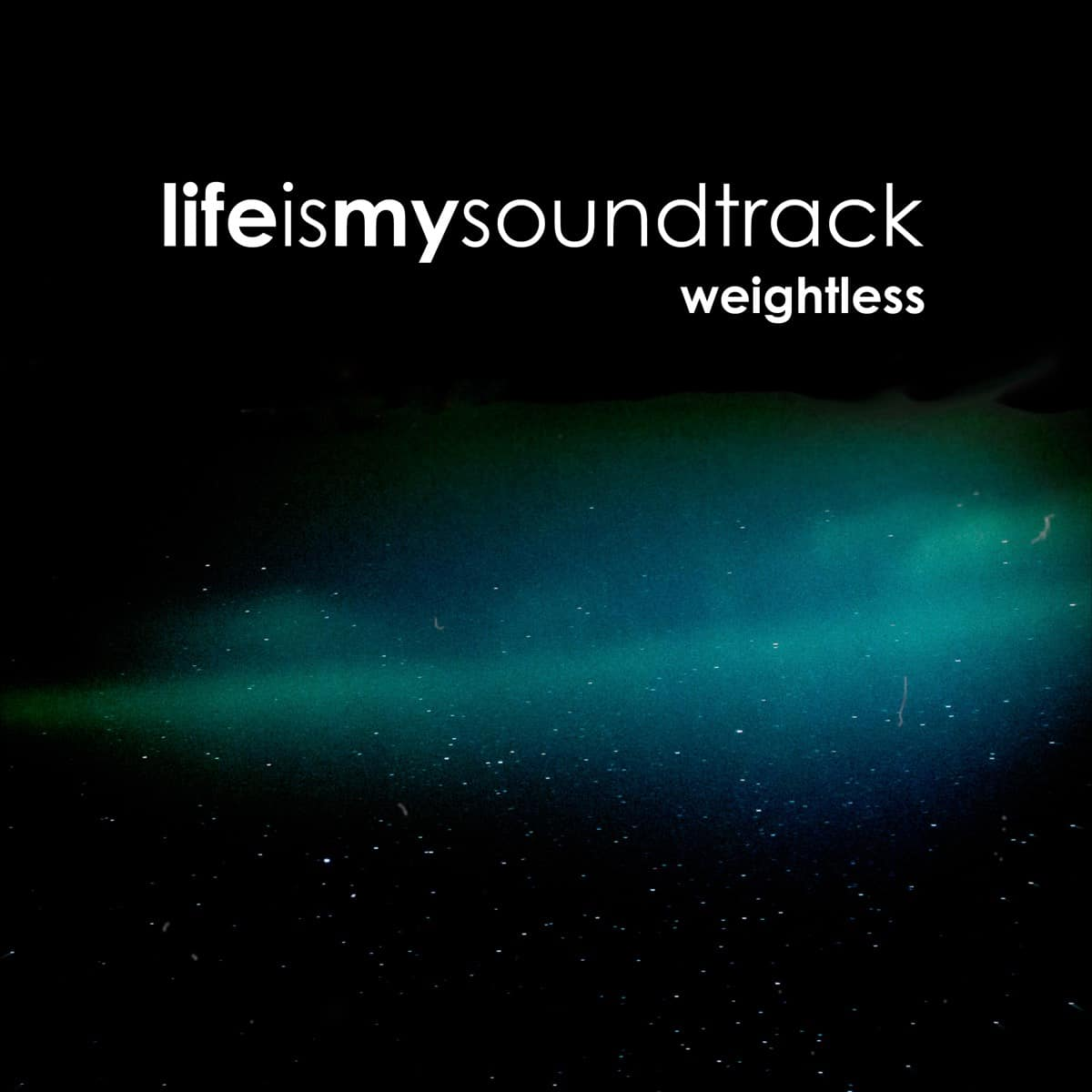 The album Weightless by Life Is My Soundtrack - Music inspired by the 1980's vision of the future of space exploration