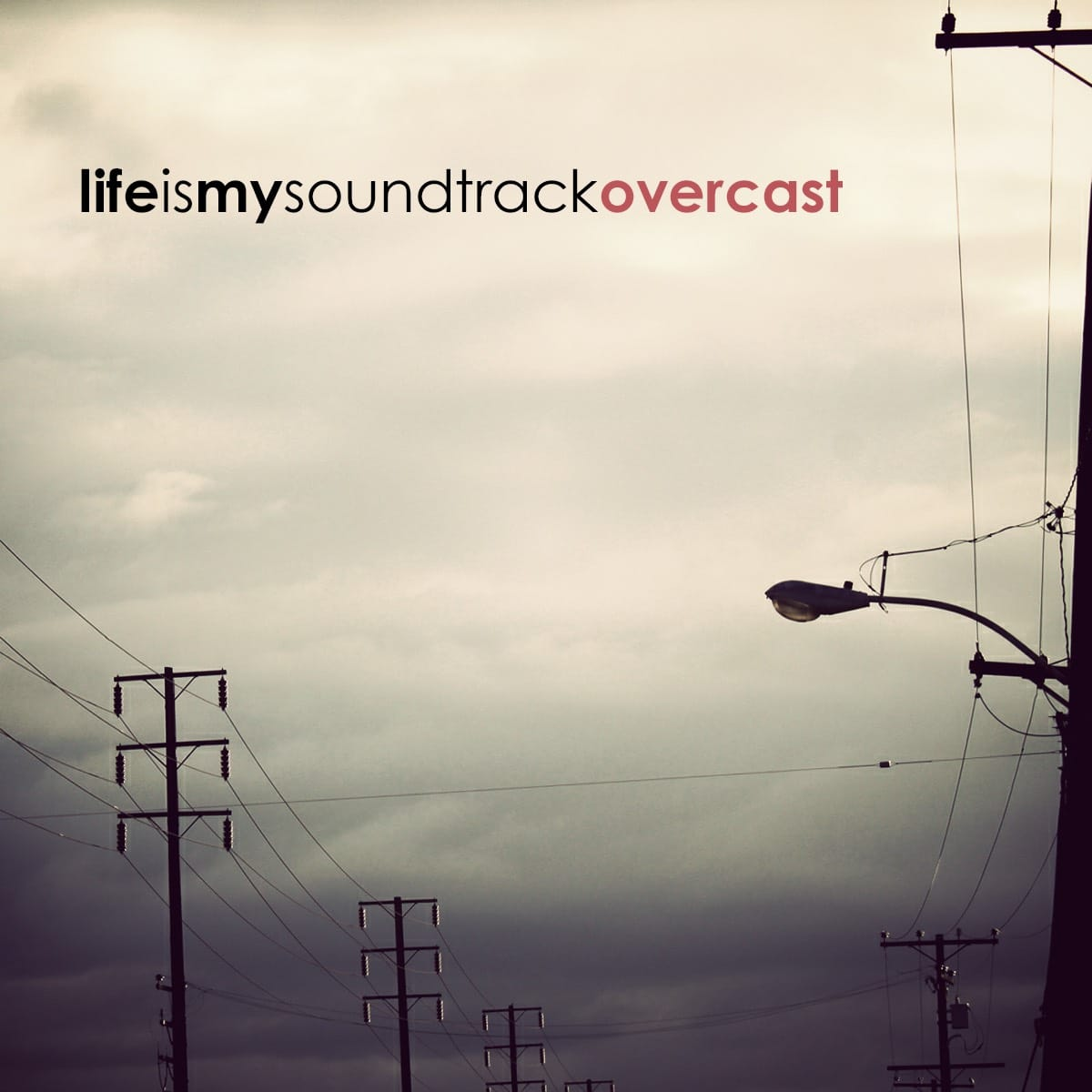 The album Overcast by Life Is My Soundtrack - Electronic music inspired by an overcast sky as the early evening slowly closes in